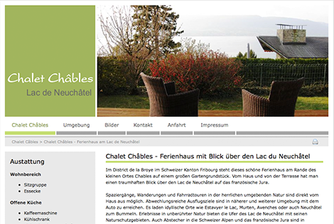 Chalet Chables